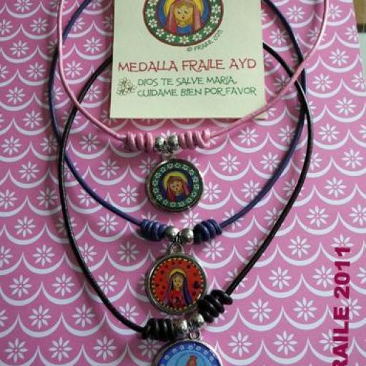 Medalla Fraile AyD 3 Virgen Milagrosa [3]