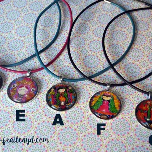 Medallas camafeo Vírgenes Mexicanas [1]
