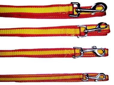 Correa Nylon Diseño Bandera España para Perro
