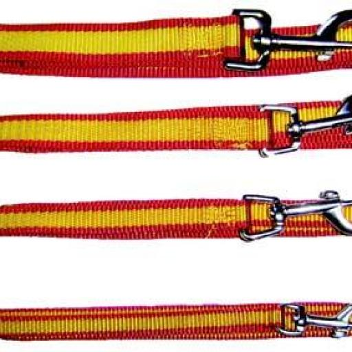 Correa Nylon Diseño Bandera España para Perro [0]
