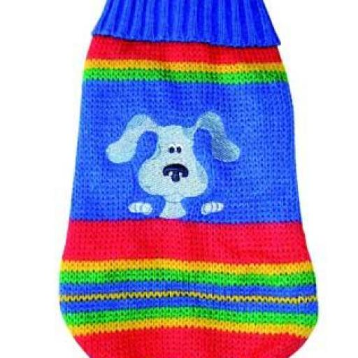 Jersey de lana perrito