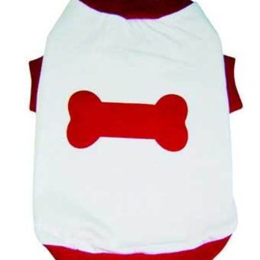Camiseta con Hueso Modelo 15