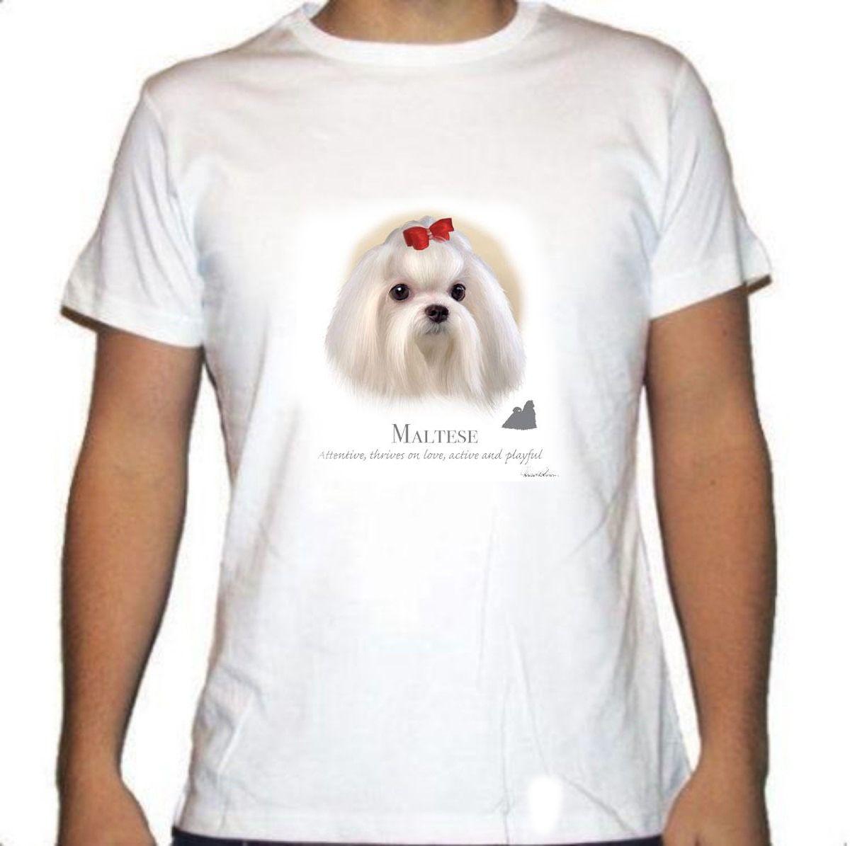 Camiseta Carita de Bichón Maltés