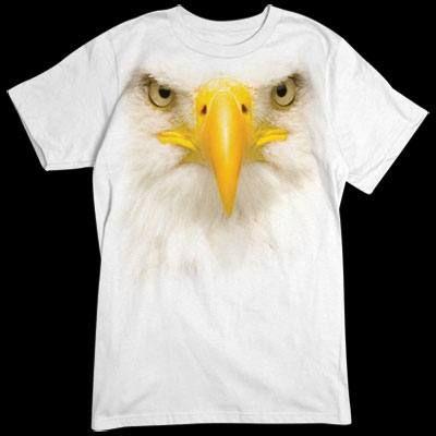 Camiseta cara de Aguila 3D