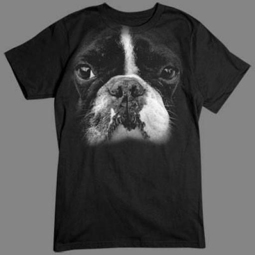 Camiseta Bulldos Francés 3D