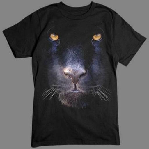 Camiseta en 3D Pantera