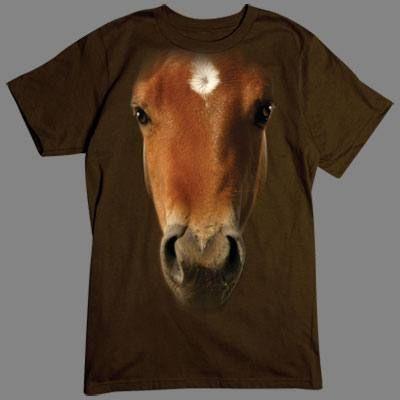 Camiseta 3D caballo