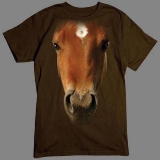 Camiseta 3D caballo [0]