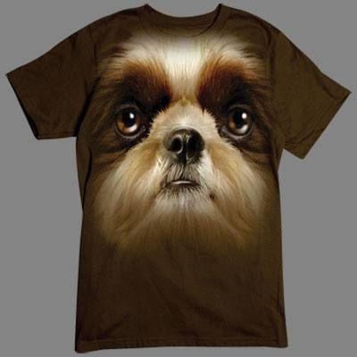 Camiseta de Shih Tzu en 3D