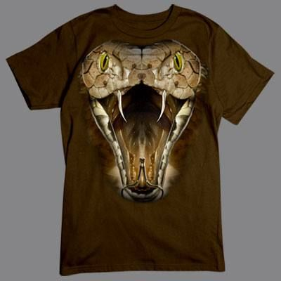 Camiseta de Cobra en 3D