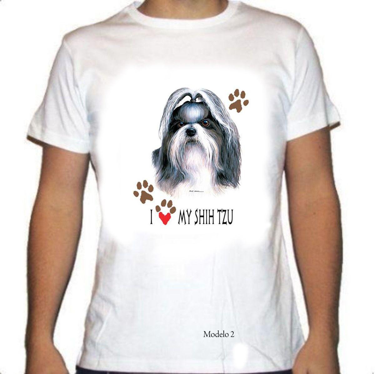 Camiseta Shih tzu