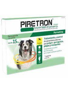 Antiparasitario previene la leishmaniosis Piretron 2 ml para perros de más de 15kg