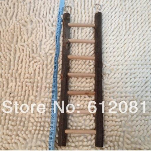 Juguete Escalera de Madera Para Loro [2]