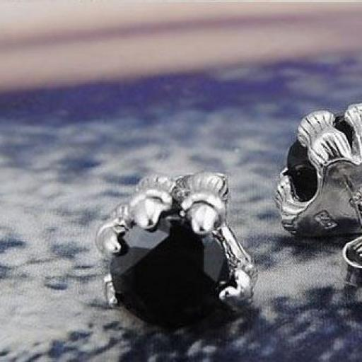 Pendientes de Plata en forma de garra [2]