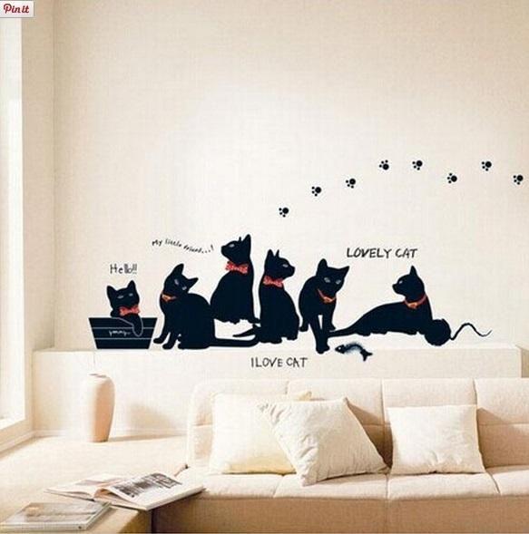 Gatitos decorativos