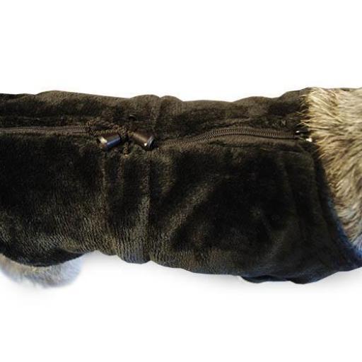 Abrigo Runner negro [2]
