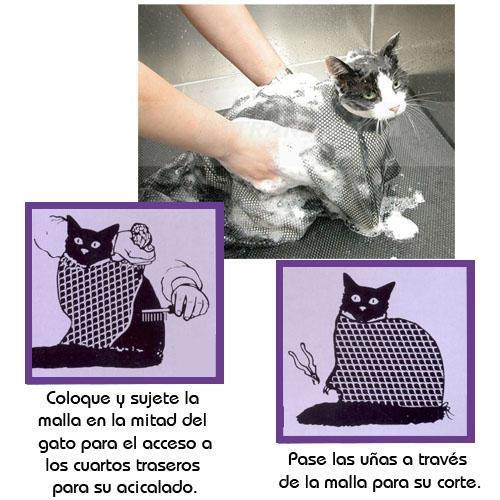 Bolsa de Malla para el Aseo de Gatos