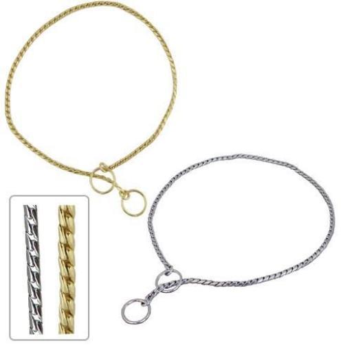 Collares de cadena Máxima Elegancia Cromado Plateado