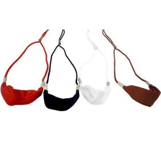 Lazos de Exposición Redondos con banda de seda [1]