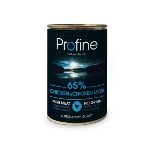 Profine lata Pollo & Hígado de Pollo 6x400g