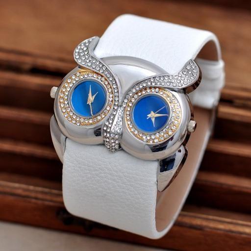 Reloj de alta calidad con cara de Buho [1]