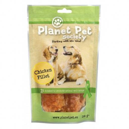 Planet Pet Snack Filetes de Pollo 400gr
