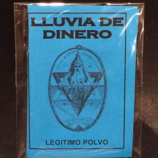 LEGITIMO POLVO ESOTERICO LLUVIA DE DINERO