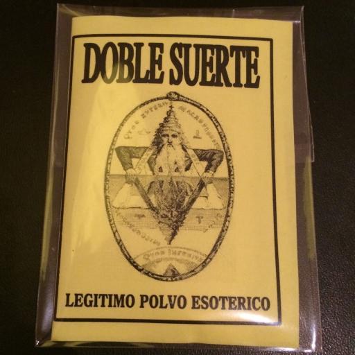 LEGITIMO POLVO ESOTERICO DOBLE SUERTE