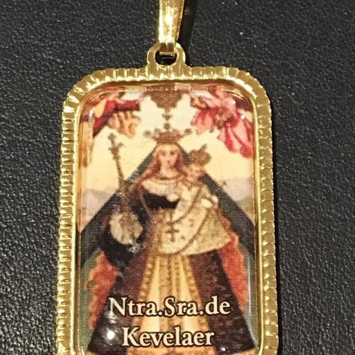 Ntra. Sra. De Kevelaer. Alemania Medalla 3x2 cm.