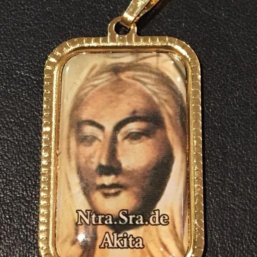 Ntra. Sra. De Akita. Japon Medalla 3x2 cm.
