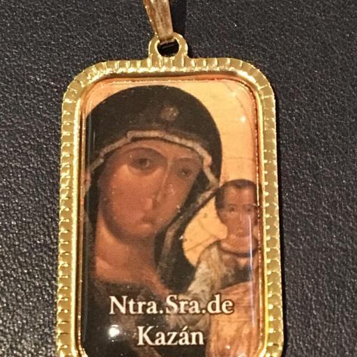 Ntra. Sra. De Kazan. Rusia Medalla 3x2 cm.