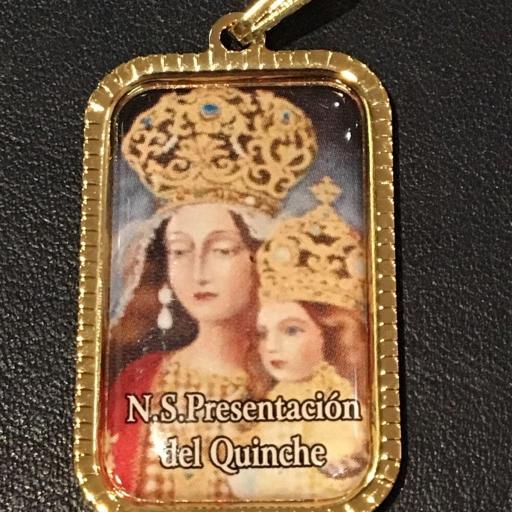 Ntra. Sra. Presentacion Del Quinche. Ecuador Medalla 3x2 cm. [0]