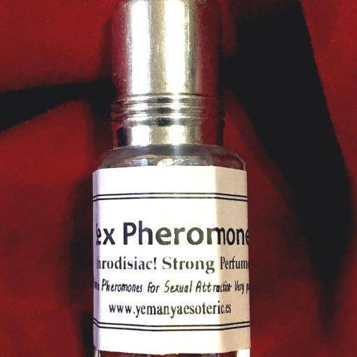 Perfume afrodisíaco Feromona sexual  Para hombre 5 ml.