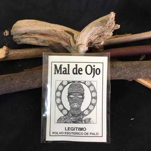 """"""" MAL DE OJO """" POLVO ESOTERICO DE PALO - SANTERIA - IFA"""