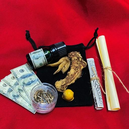 ⭐️ Mojo Bag Dollar Talisman Buena Suerte, Dinero, Fortuna ⭐️