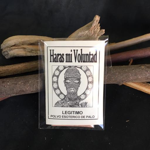 """"""" HARAS MI VOLUTAD """" POLVO ESOTERICO DE PALO - SANTERIA - IFA"""