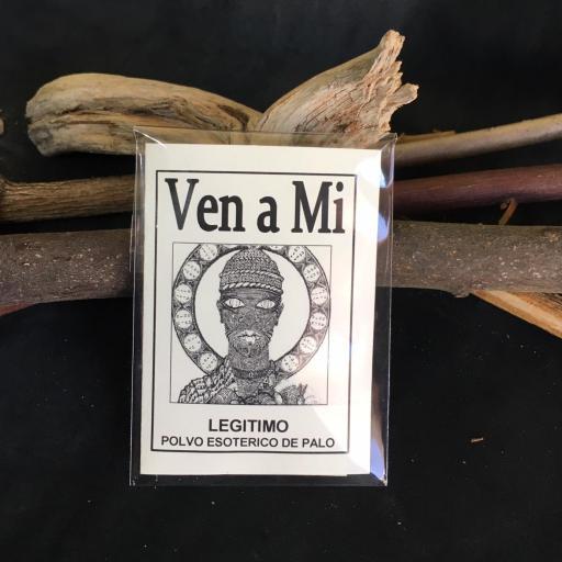 """ VEN A MI "" POLVO ESOTERICO DE PALO - SANTERIA - IFA"