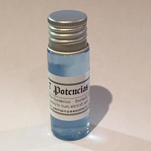 """ACEITE ESOTERICO """"7 POTENCIAS"""" 10 ml"""