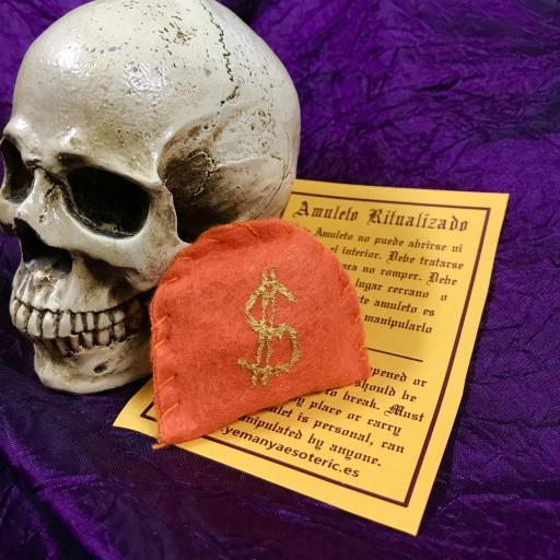 Amuleto Dinero, Suerte, Loterias, Juegos de Azar... Ritualizado