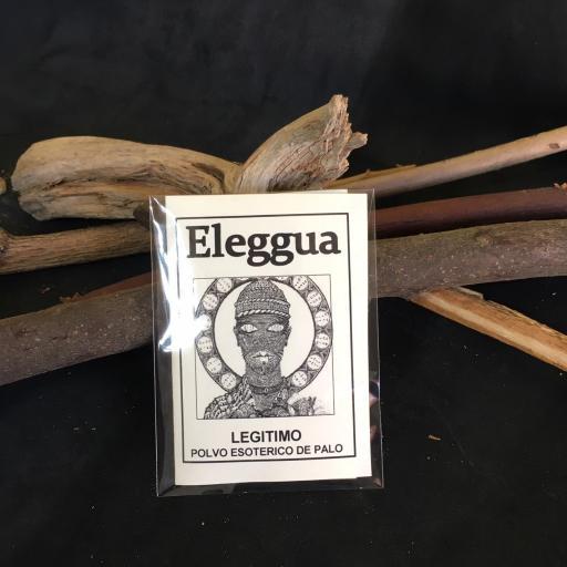 """"""" ELEGGUA """" POLVO ESOTERICO DE PALO - SANTERIA - IFA"""