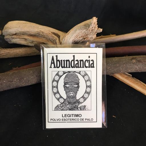 """"""" ABUNDANCIA """" POLVO ESOTERICO DE PALO - SANTERIA - IFA"""