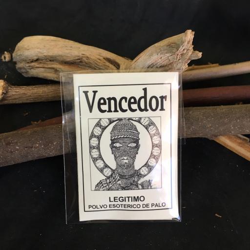 """"""" VENCEDOR """" POLVO ESOTERICO DE PALO - SANTERIA - IFA"""