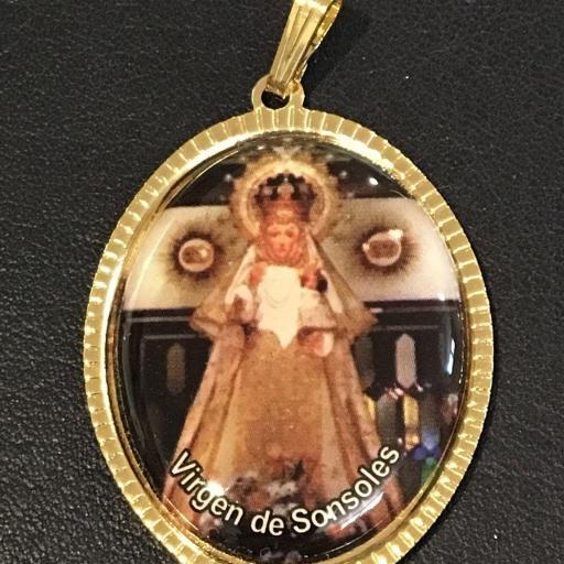 Virgen De Sonsoles Medalla 3,5 cm.