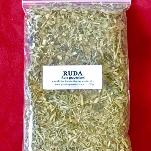 RUDA  Planta seca 20 gr.