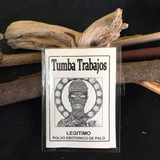 """"""" TUMBA TRABAJOS """" POLVO ESOTERICO DE PALO - SANTERIA - IFA"""