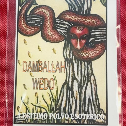 "POLVO ESOTERICO "" DAMBALLAH WEDO "" NEW ORLEANS"