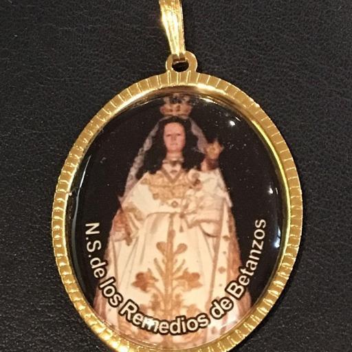 Ntra. Sra. De Los Remedios De Betanzos Medalla 3,5 cm.