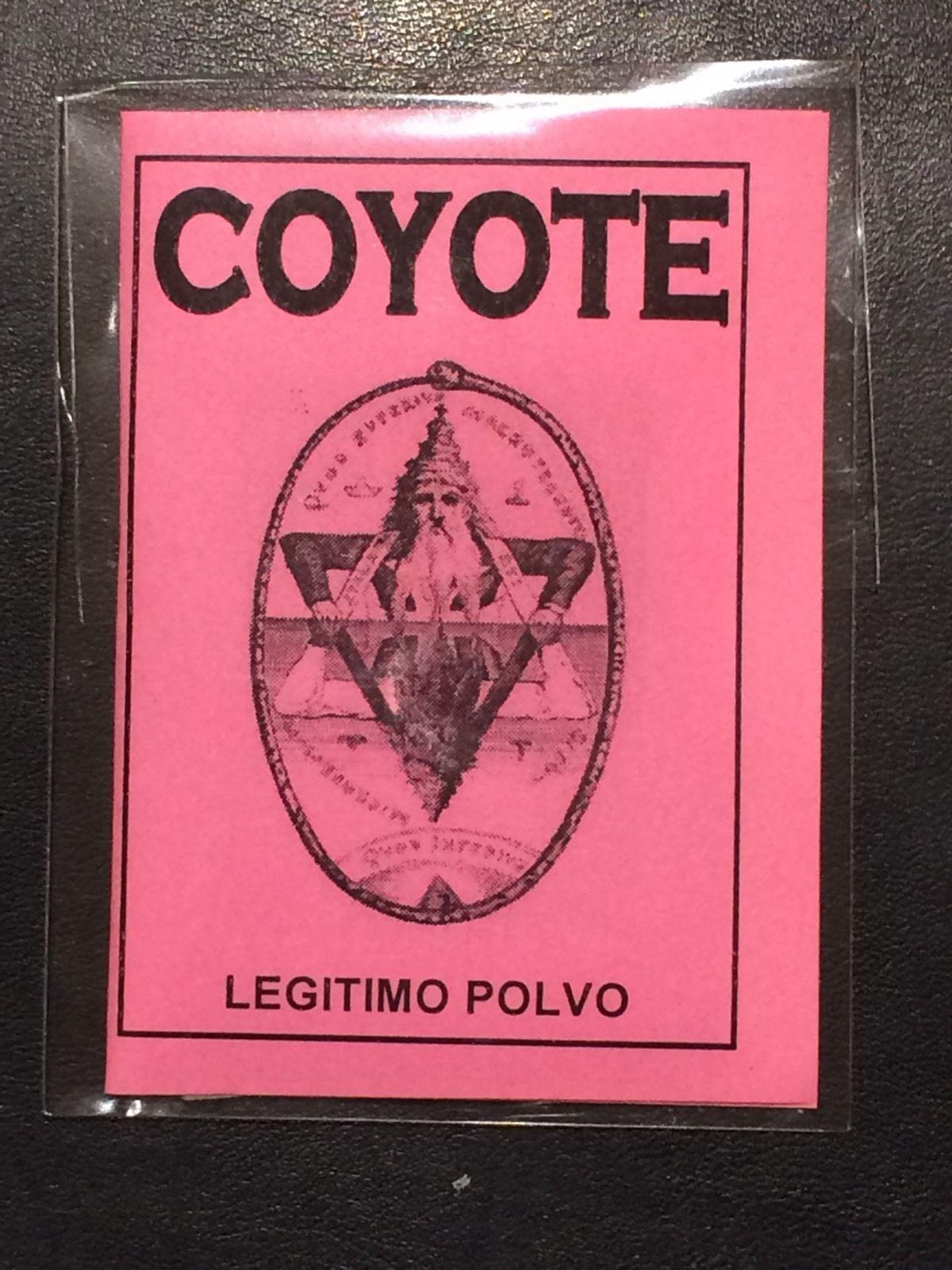 LEGITIMO POLVO ESOTERICO COYOTE