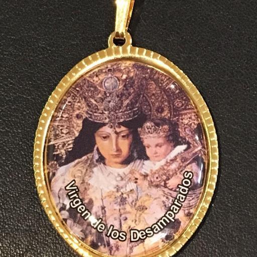 Virgen De Los Desamparados 3,5 cm.