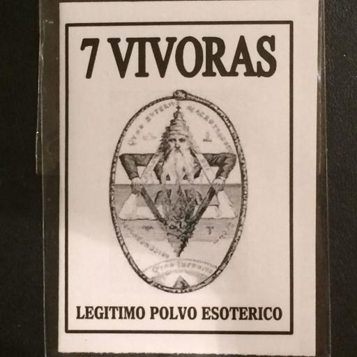 LEGITIMO POLVO ESOTERICO 7 VIVORAS